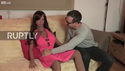 Photos Of The Artificial Sex Doll 'samantha', That Has Emotions And