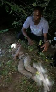 Yahoo Boy Caught Using His 7-Year-Old Nephew For Rituals In Lagos. Photo