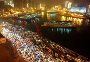 MINDBLOWING; Thousands Of Vehicles Stuck In Traffic In China (Photos)