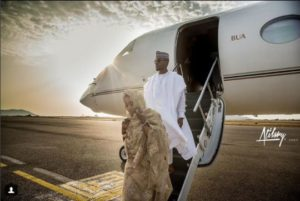 Too Much Effizy: Young Nigerian Couple Stuns Social Media, Take Pre-Wedding Photoshoot To A Private Jet