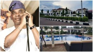 See The Gorgeous Mansion of King Wasiu Ayinde Marshal (Photos + Video)