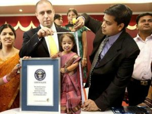 Meet The World's Smallest Woman And Her Husband As They Pose For Photos