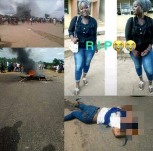 TASUED Student Crushed To Death On Her Way To School In Ogun (Graphic Photos)