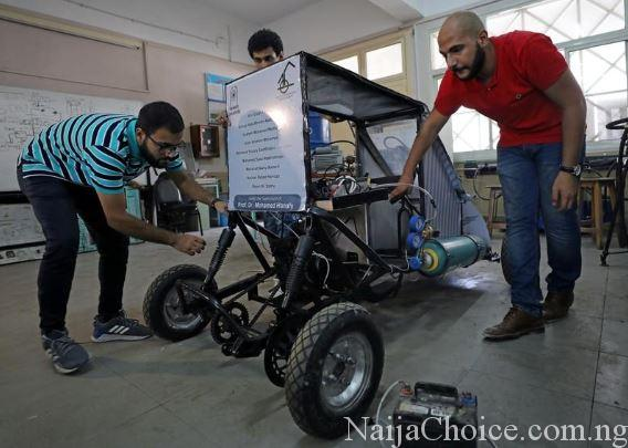 African Students Build Car That Runs On Air (Photos)