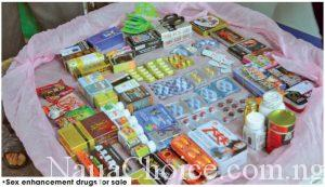 Danger: Inside The Lagos Suburb Where Sale Of S*x Drugs Is Currently Booming (Photos)