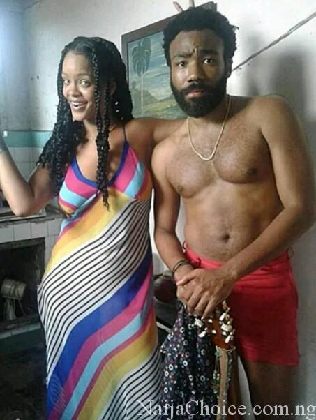 Viral Photo Of Rihanna And Shirtless Donald Glover Everyone Is Talking About