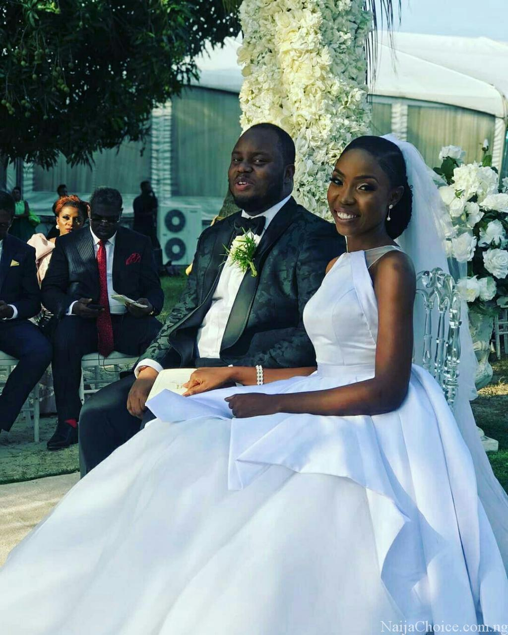 First Look at Lala Akindoju & Chef Fregz White Wedding #Àṣéwẹ́rẹ́niṣẹ́Olúwa