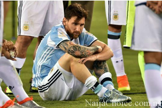 'He Was Alone, Crying Like He Lost His Mother' – Coach Reveals How Messi Reacted After Copa America 2016