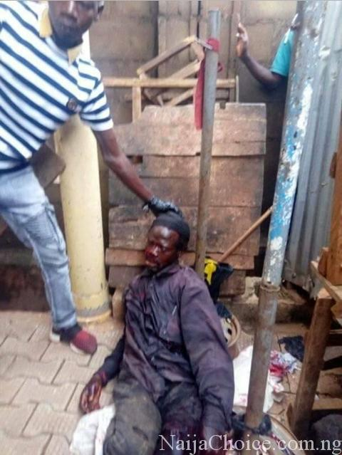 Shock As Man Is Found Dead In Pool Of His Blood After Knife Attack In Kaduna (Photos)