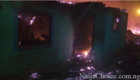 A Woman In Calabar Loses 2 Kids In Fire Outbreak After Sneaking Out To Meet Boyfriend