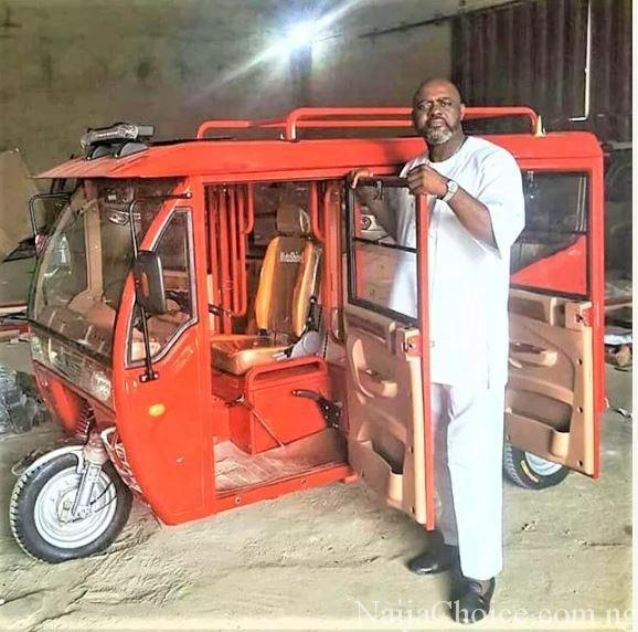 Checkout Out Made-in-Nigeria Keke NAPEP (Photos)