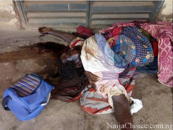 Panic As Ritualists Kill 'Madwoman' In Ondo, Breasts And Eyes Removed (Graphic Photo)