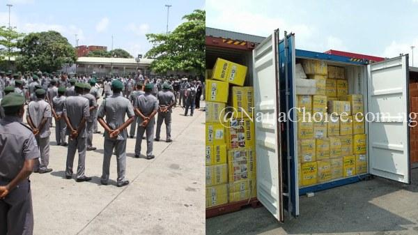 Another 13 Containers Of Tramadol And Bleaching Creams Intercepted By Customs