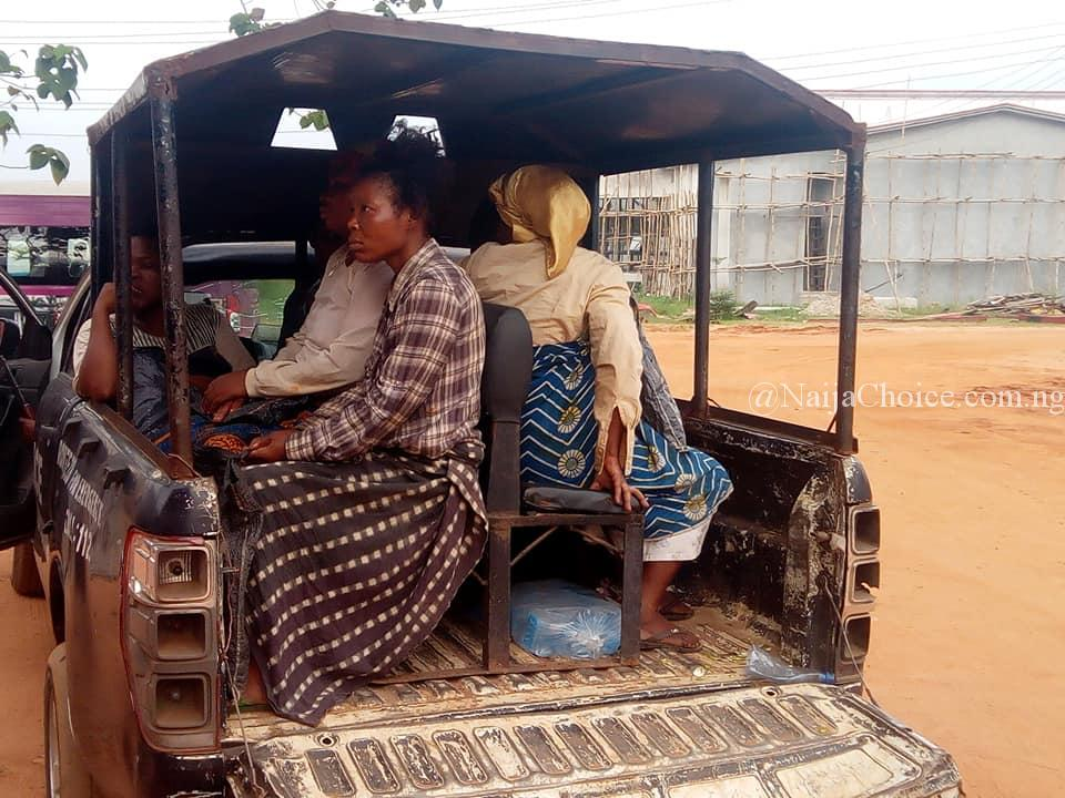 Fake Blind Beggars Who Use Rented Kids To Beg Busted By Officials In Anambra (Photos)