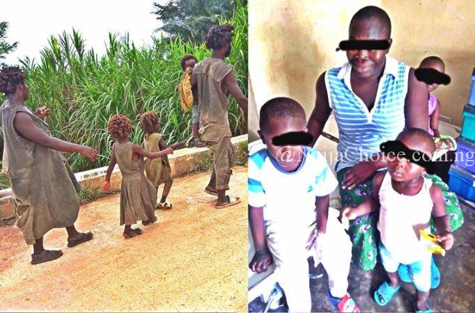 HEARTBREAKING!; See New Pictures Of The Family Of Five Plagued With Madness In Cross River