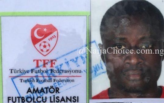 SAD! Nigerian Footballer Dies on the Pitch in Turkey