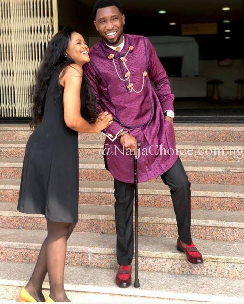Timi Dakolo And His Wife, Busola All Smiles In Adorable Photos
