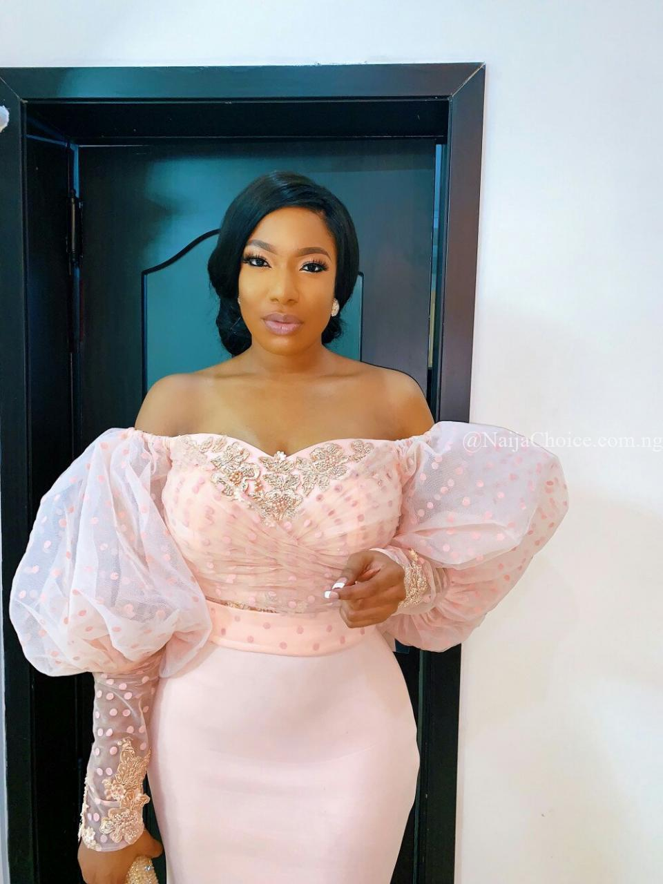 Chika Ike Looking Beautiful As She attends Harvard Business School Association of Nigeria's Annual Dinner in Lagos
