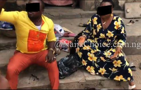 Female Pastor Disgraced By Villagers In Anambra After Being Caught With Fetish Items (Photos)