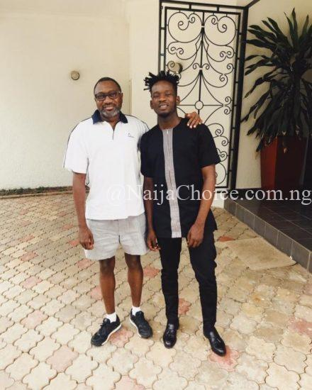 Femi Otedola Recieves Courtesy Visit From Prospective Son-Inlaw