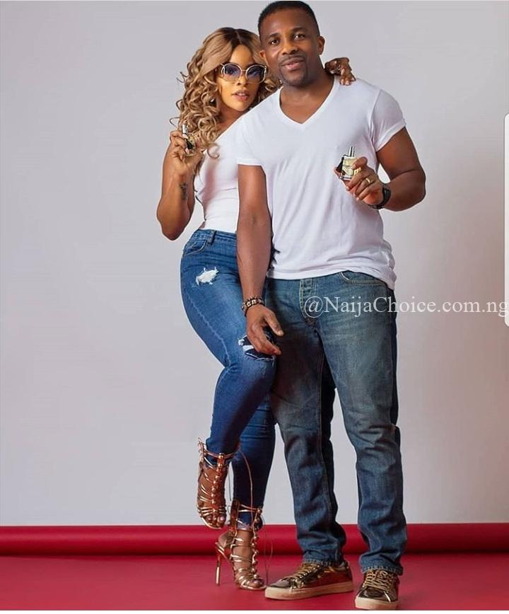 Laura Ikeji Celebrates Second Wedding Anniversary With Cute Loved Up Photo