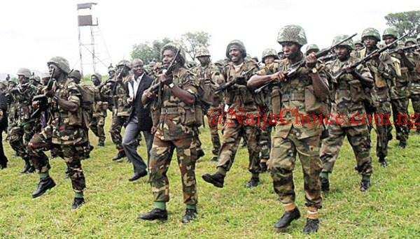 Serious Drama As Soldiers Storm Cultists' Hideout In Edo, Nab 40 People