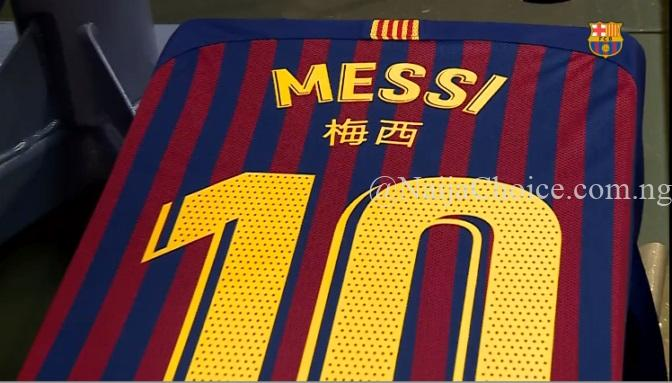 Why Barcelona Players Will Have Their Names In Chinese For El Clasico