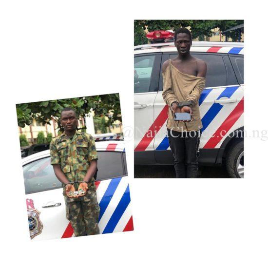 Fake Soldier, Robber Of Corps Member Arrested In Lagos