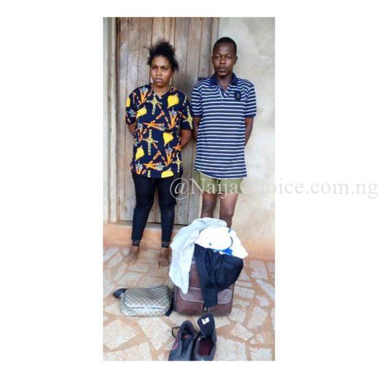 Lady Lures Facebook Lover From Imo To Anambra, Robs Him