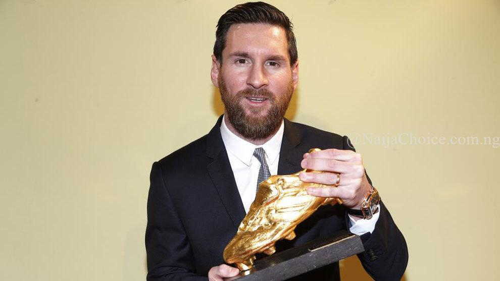 Lionel Messi Makes History, Becomes First Player To Ever Win A Sixth European Golden Shoe