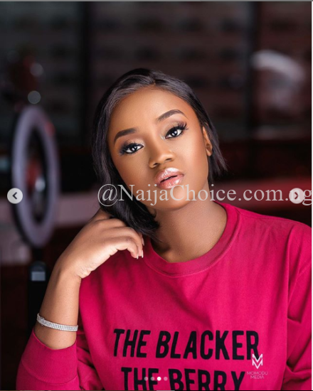 New Makeup Photos Of Davido's Girlfriend, Chioma Avril