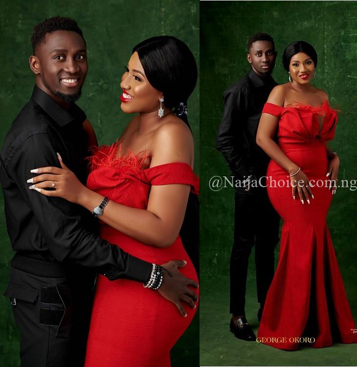 Stunning Pre-wedding Photos Of Super Eagles Star, Wilfred Ndidi And His Lover, Dinma