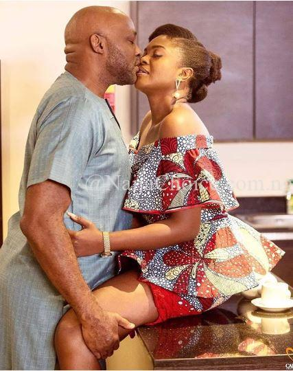 Suspicious Photo Of Actors RMD And Omoni Oboli Kissing Surfaces Online