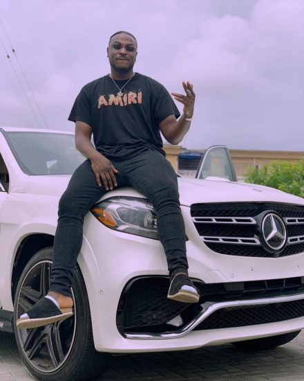 New Whip! Thank God! – Peruzzi Shares Photos Of His New Mercedes Benz SUV