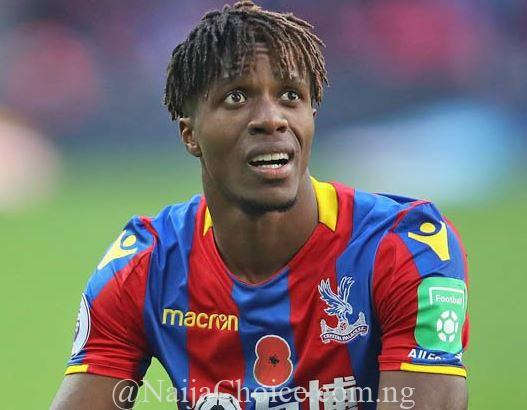 Arsenal Submit 40million Pounds Offer For Crystal Palace's Zaha