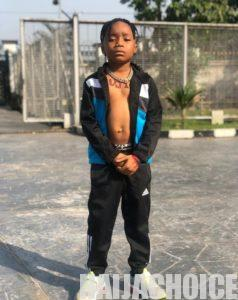 Omg!!! 6-Year-Old Upcoming Singer Professes Love For Davido's Daughter, Imade On Val Day