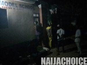 Photos Of Jambites Staying Outside By 12:20am  For Registration In Nasarawa