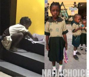 Young Girl Who Was Spotted Reading By ATM At Night Reveals What She Wants To Become